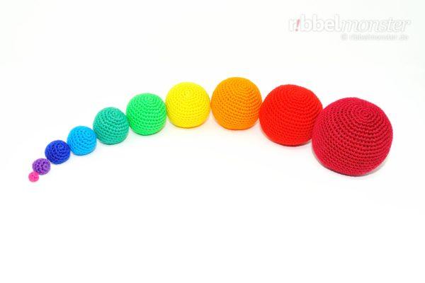 Amigurumi - einfache Bälle häkeln - Häkelanleitung - Anleitung