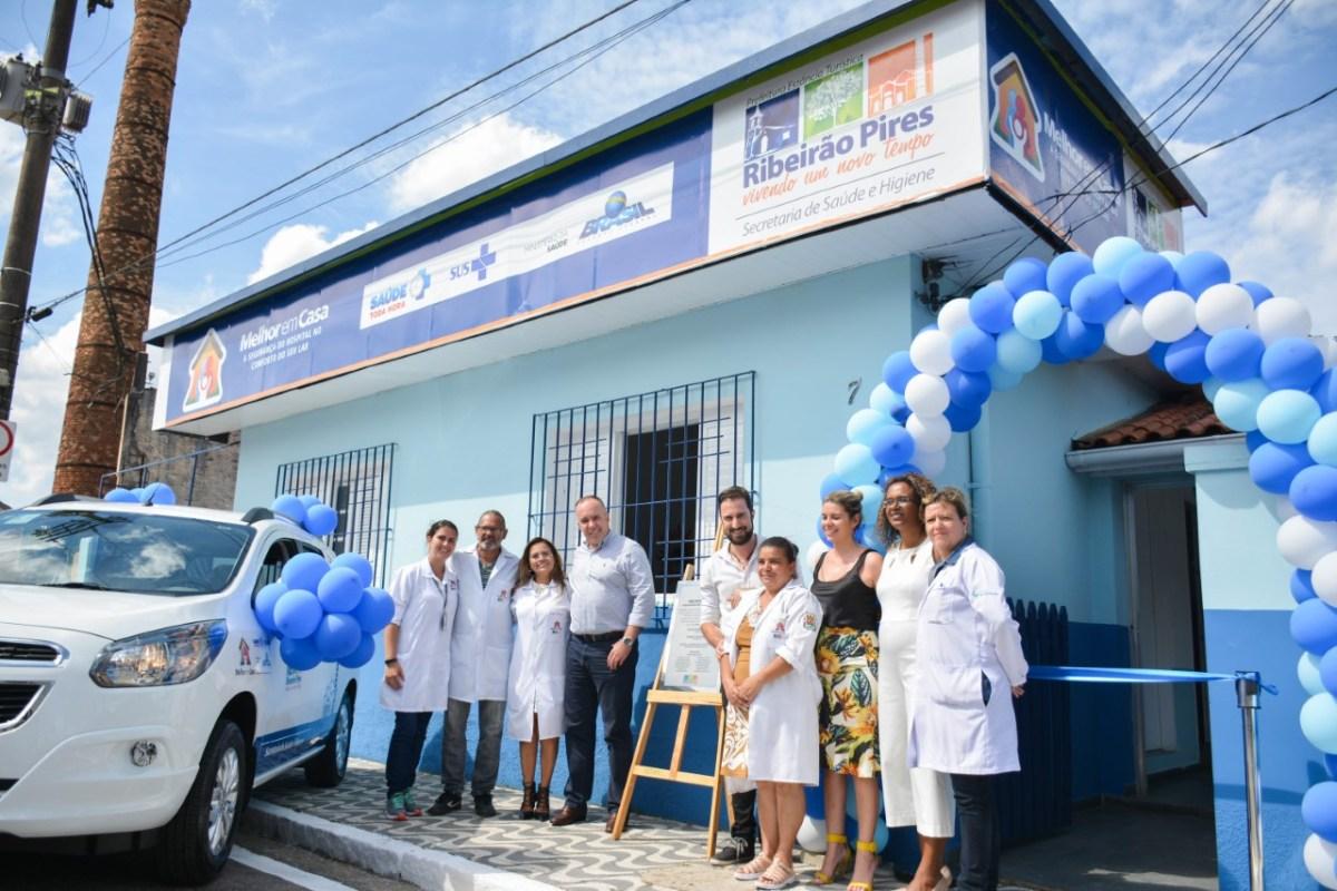 Ribeirão Pires inaugura sede do programa Melhor em Casa