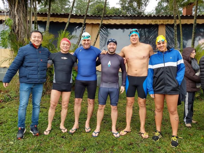 Etapa do Circuito de Maratonas Aquáticas movimenta final de semana