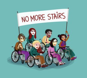 No more stairs