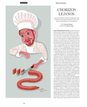 Ilustración para ICON (El País) AD: Paloma Lorenzo