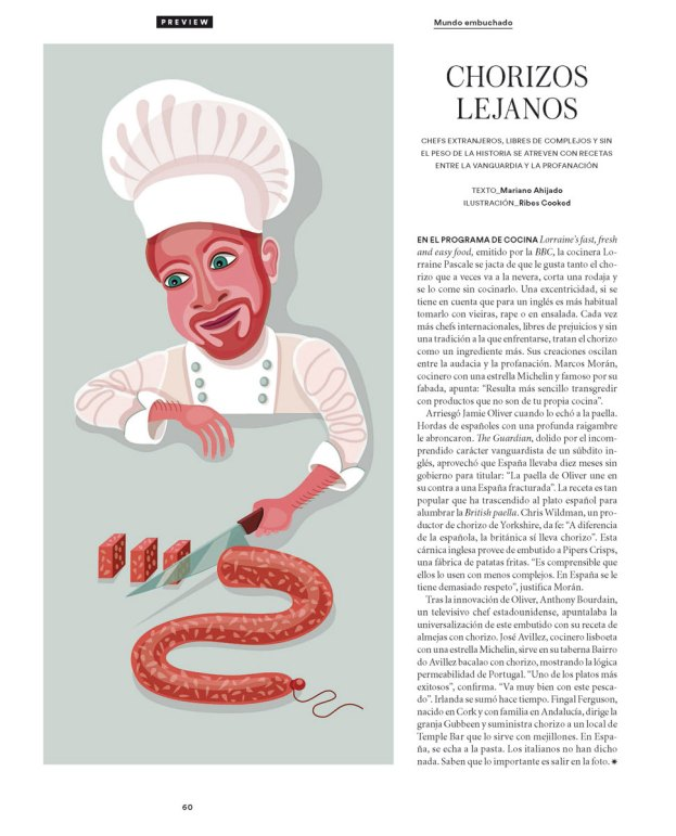 Illustration for ICON (El País) AD: Paloma Lorenzo