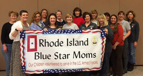 We are strong ~ We are Blue Star Moms!