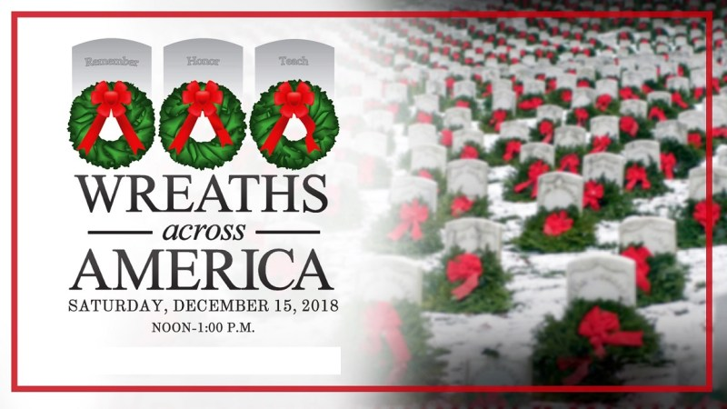 WREATHS ACROSS AMERICA 2019 DECEMBER 14