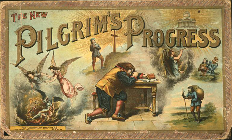Pilgrim's Progress Game by McLoughlin Bros