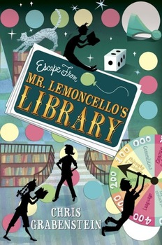 Mr. Lemoncello's Library Book Cover