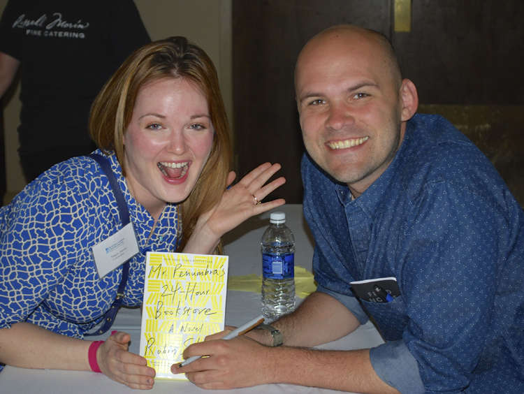Maggie and Robin Sloan