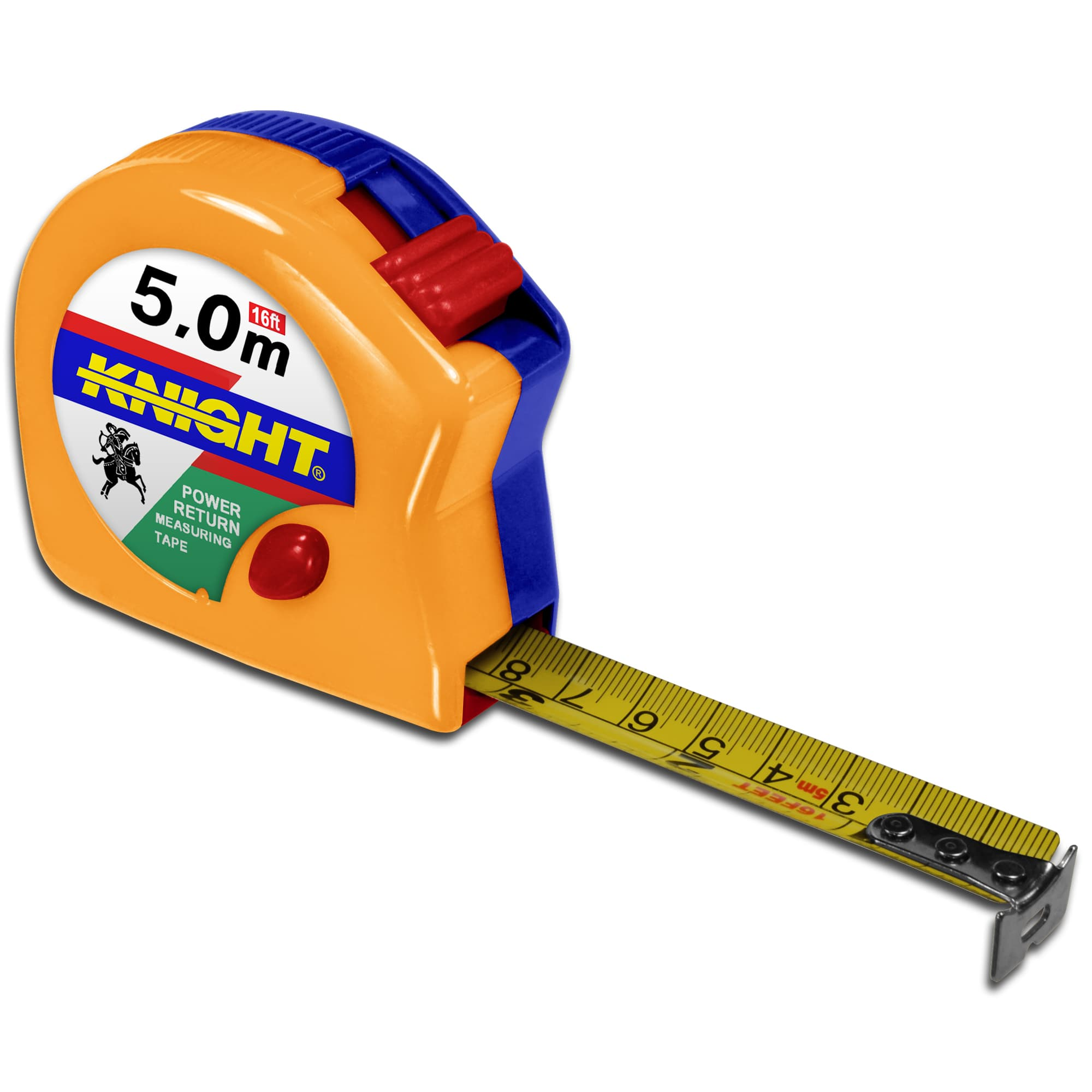 Master Carpenter Inch Metric Tape Measure