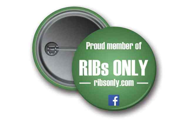 RIBs ONLY badge pin