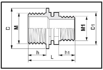 Disegno tecnico RIDUZIONE M-M 2402065 ARAG
