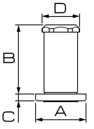 Dimensioni FILTRO 256.508.19 BRAGLIA