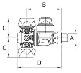 Disegno tecnico GETTO M65 65.627.1 A BRAGLIA