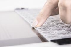 Gel overlay keyboard