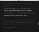 Byword writing app on Mac