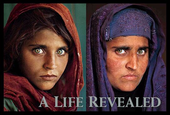 Green-eyed Afghan girl  (2/2)
