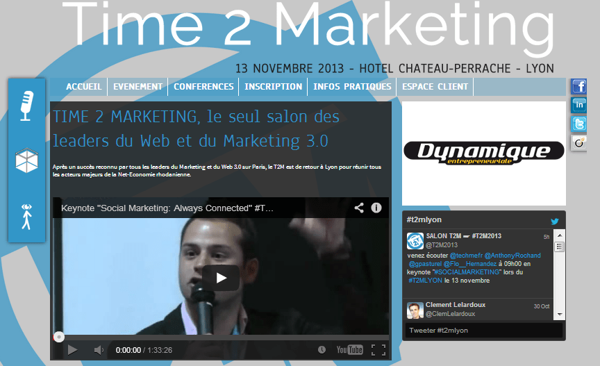 Time2Marketing Lyon : « It's time 2 marketing », j'y serais et vous ?