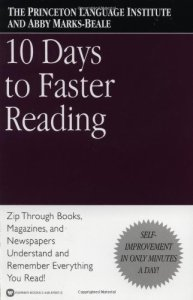 10 Days to Faster Reading de Abby Marks-Beale