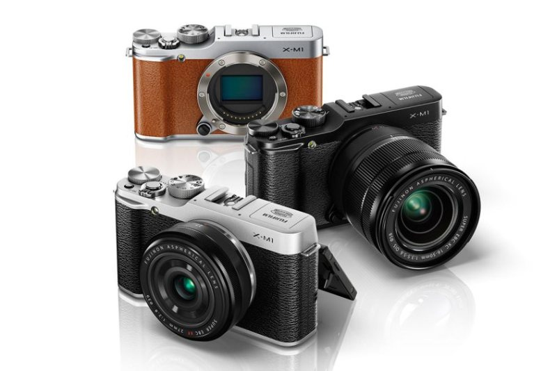 Câmeras descontinuadas da linha XM-1 - parece a X-A10 mas o sensor é diferente