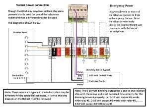 0 10 Volt Dimming Wiring Diagram   Free Wiring Diagram