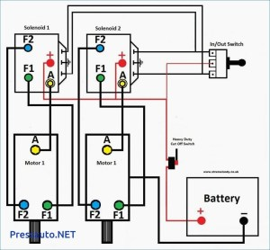 12 Volt Winch solenoid Wiring Diagram | Free Wiring Diagram