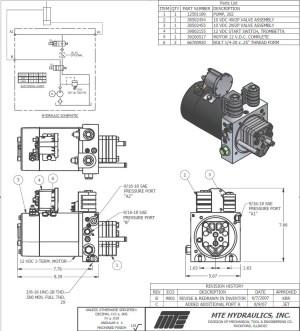 12v Hydraulic Pump Wiring Diagram | Free Wiring Diagram