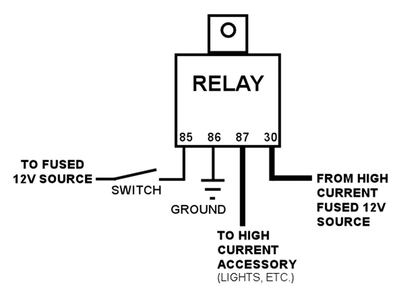Spotlight Relay Wiring Diagram Apktodownload