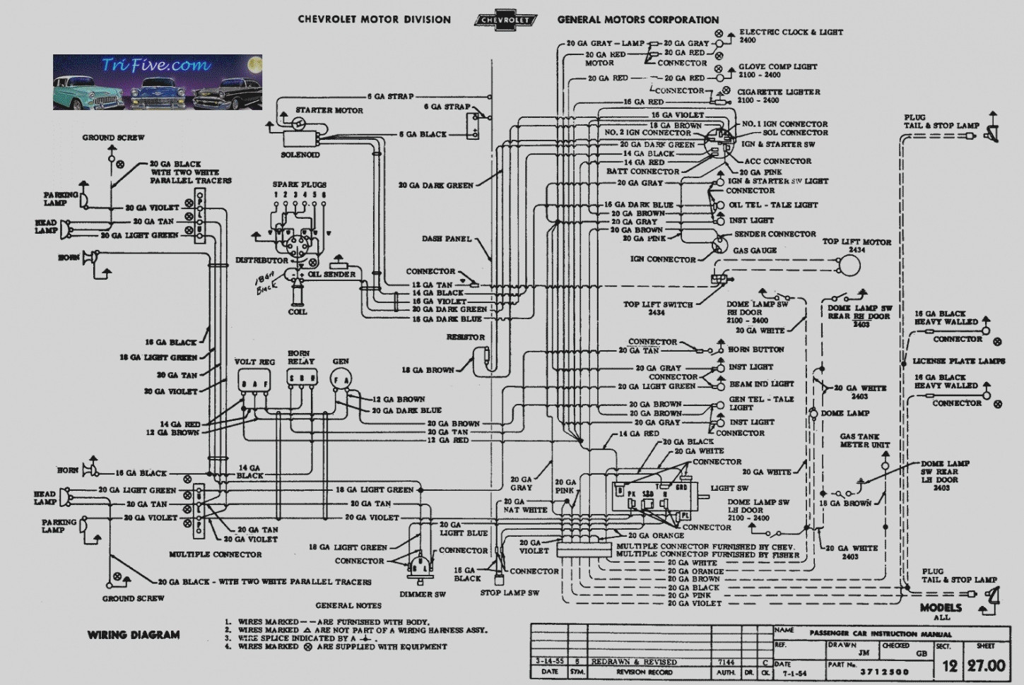 Chevy Heating Diagram