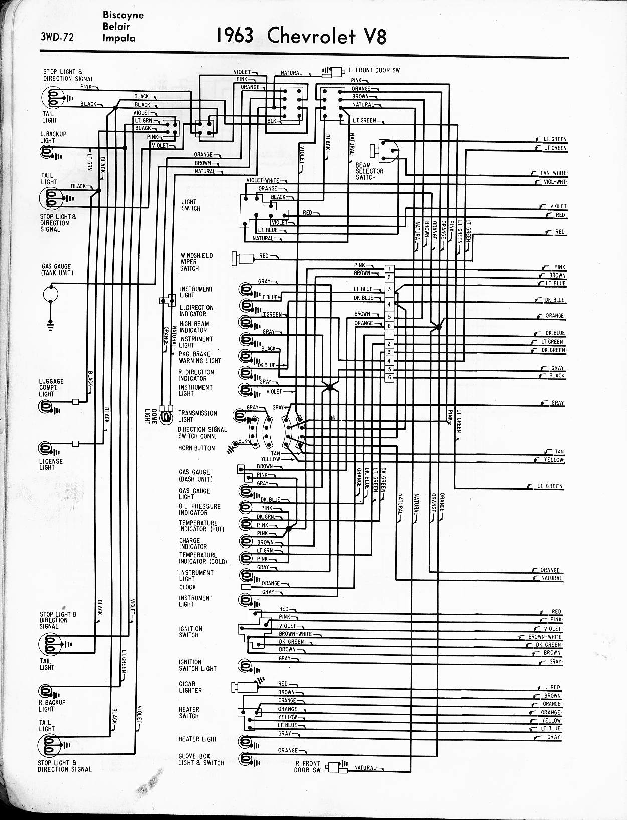 Chevy Impala Wiring Diagram