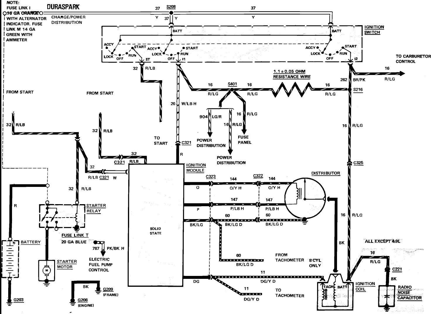 Ignition Key Switch Wiring Diagram