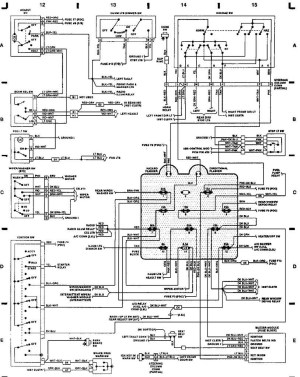1993 Jeep Wrangler Wiring Schematic | Free Wiring Diagram
