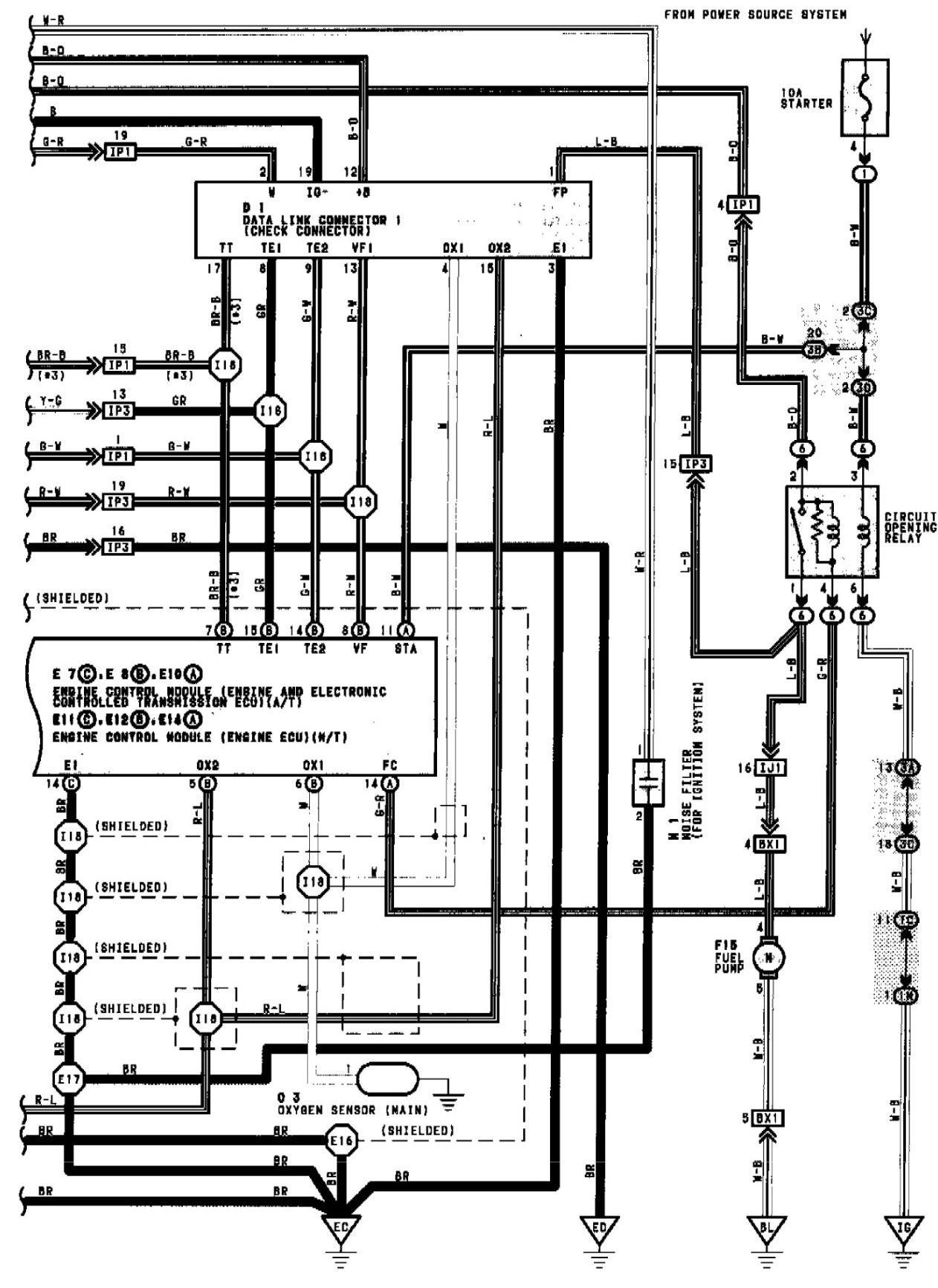 Toyotum Camry Wiring Diagram