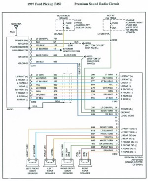1997 ford F150 Stereo Wiring Diagram | Free Wiring Diagram