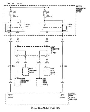 1998 Dodge Ram 1500 Wiring Schematic | Free Wiring Diagram