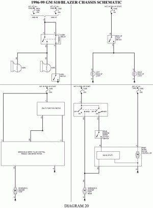 1999 Chevy S10 Wiring Diagram | Free Wiring Diagram