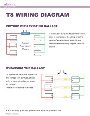 2 Lamp T8 Ballast Wiring Diagram | Free Wiring Diagram