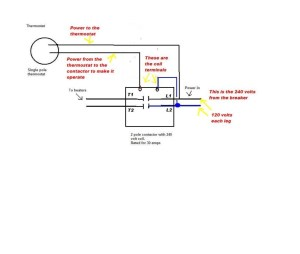 2 Pole Contactor Wiring Diagram | Free Wiring Diagram