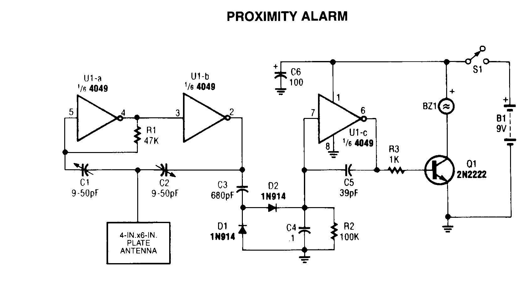 2 Wire Proximity Sensor Wiring Diagram