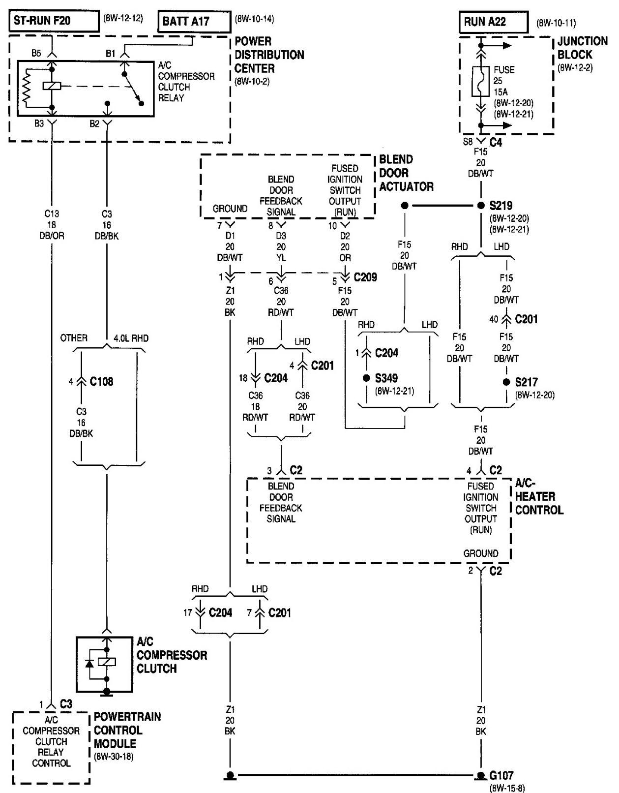 Jeep Cherokee Wiring Diagram