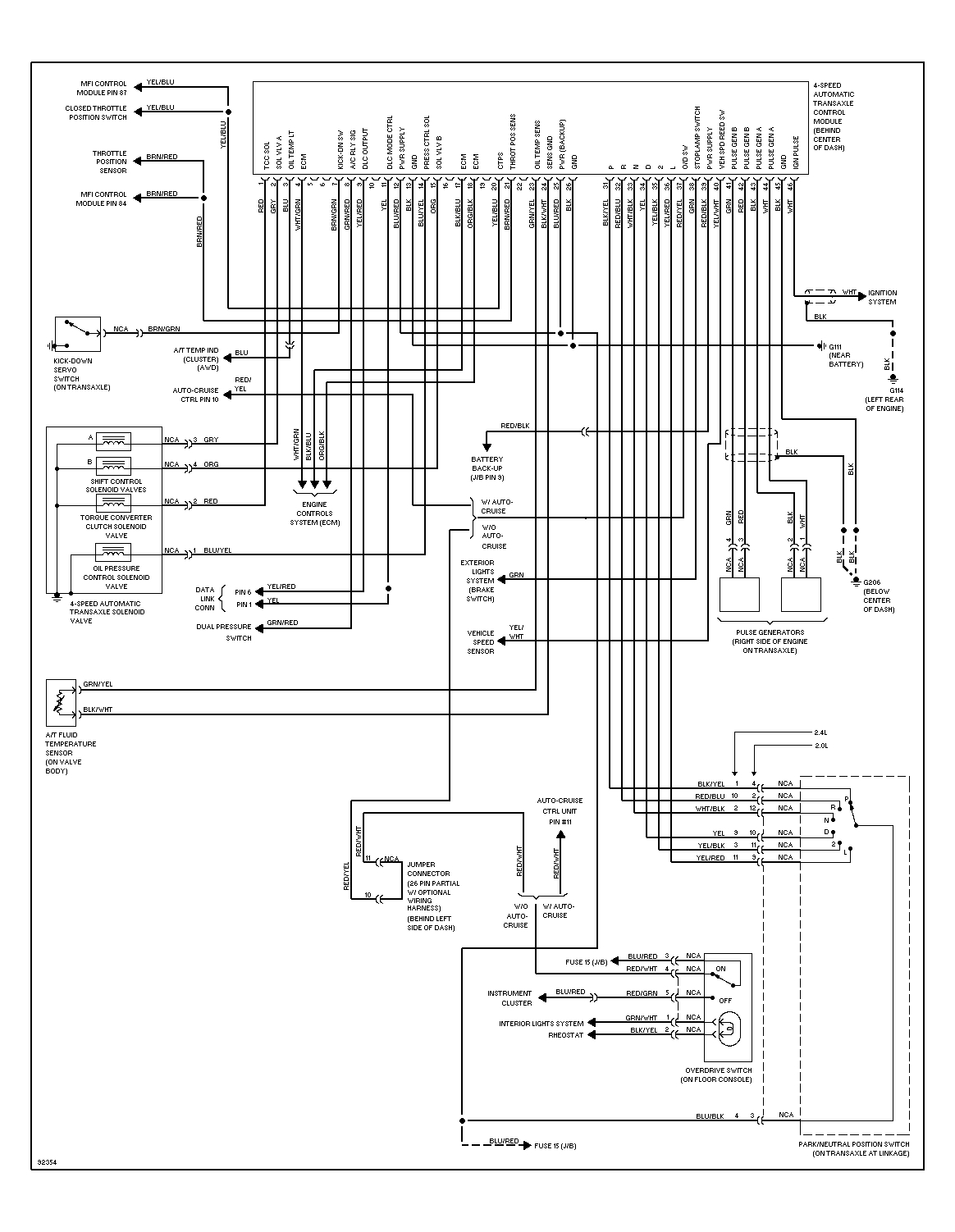 97 dakota 2 5 engine diagram