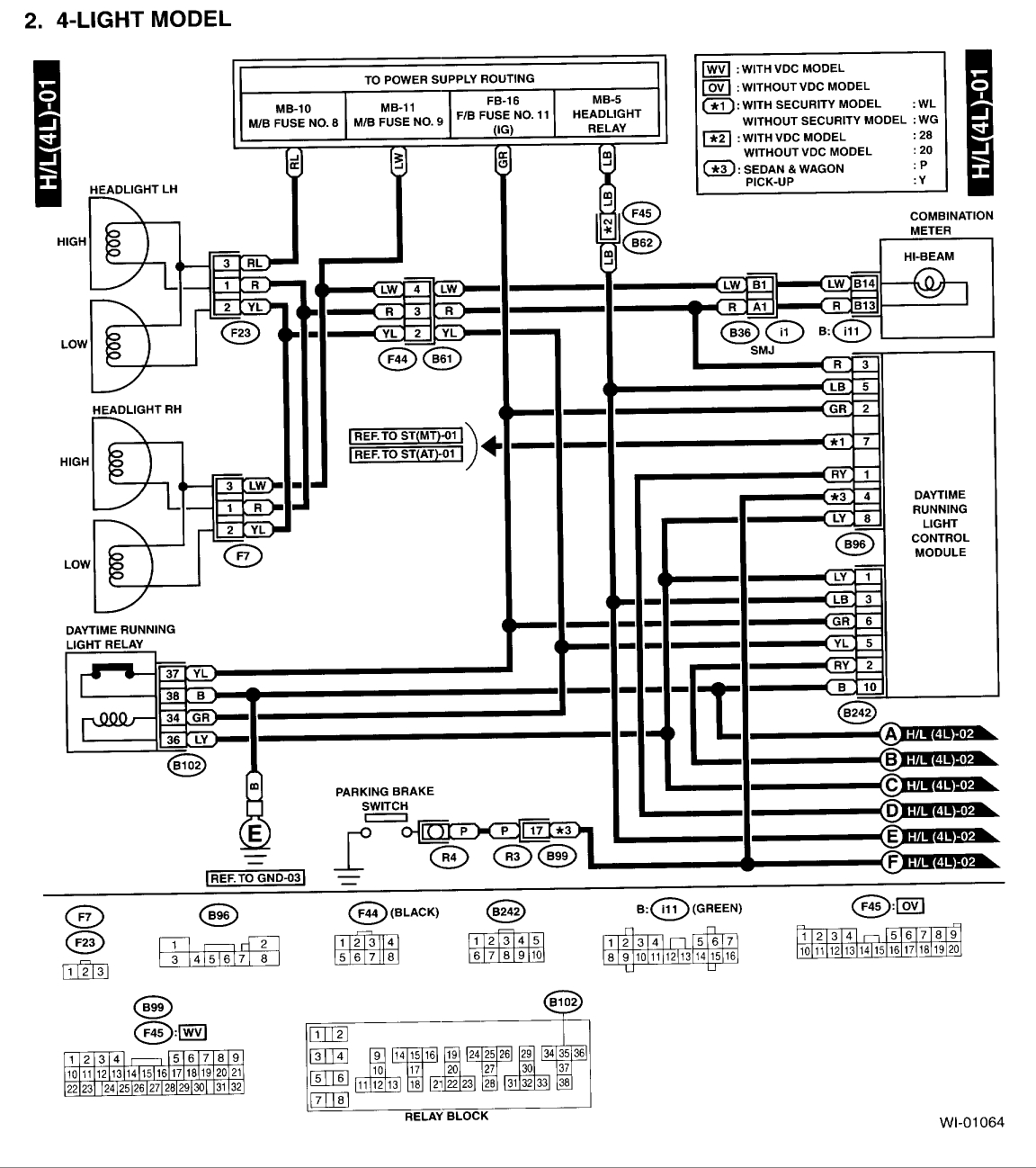 Subaru Outback Radio Wiring Diagram