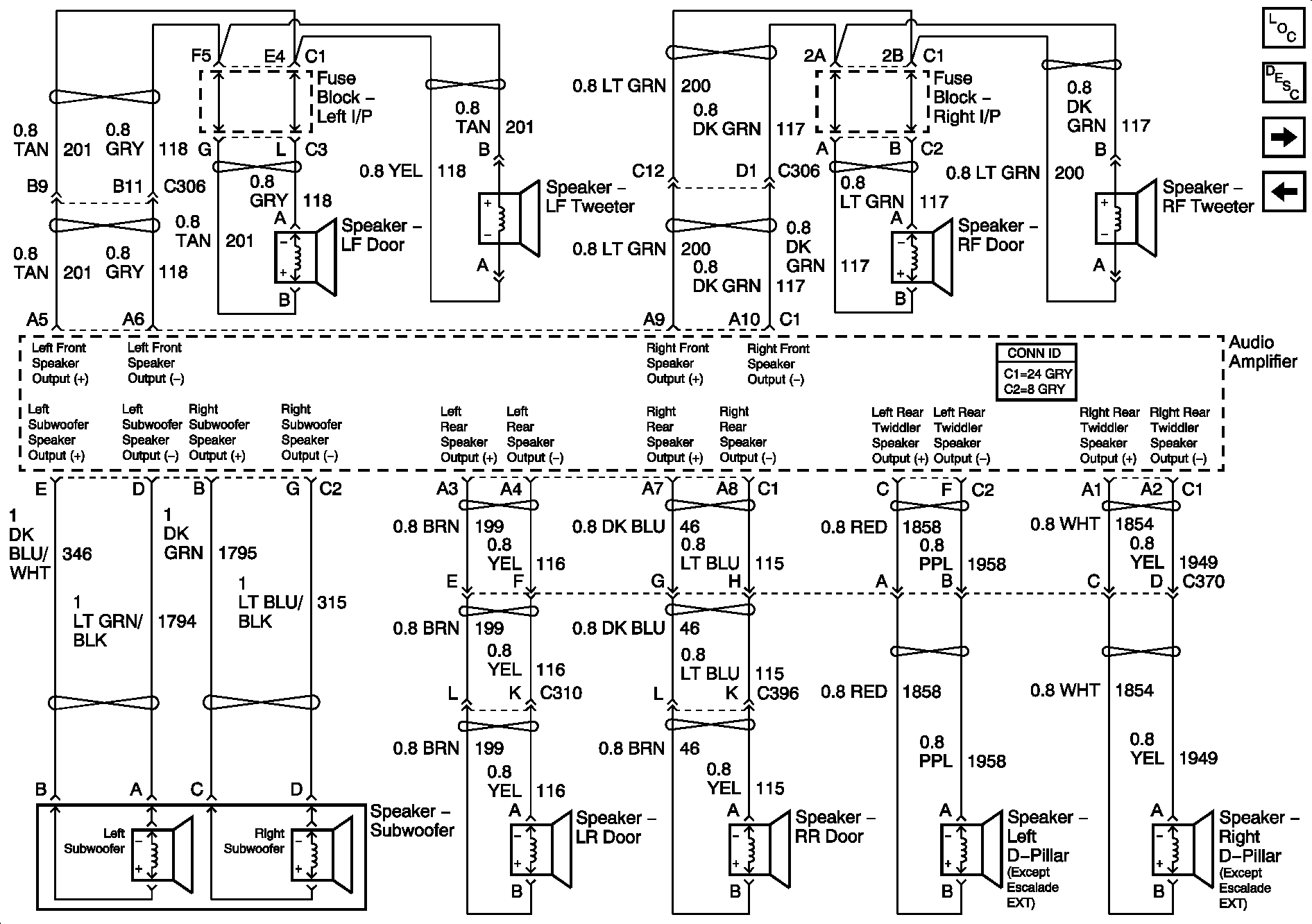 Stereo Amplifier Wiring Diagram