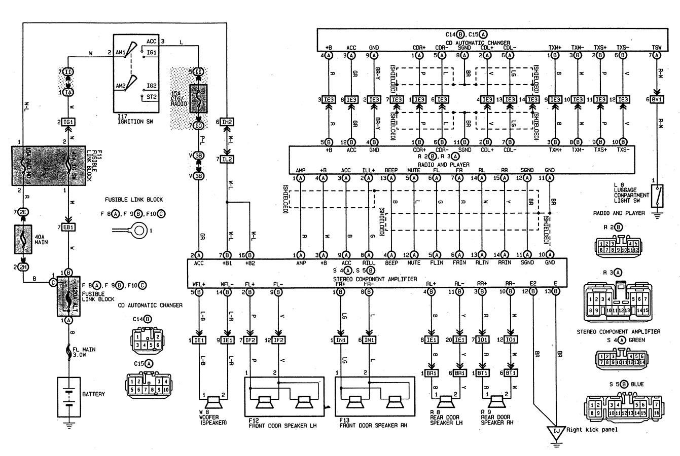 Toyota Tacoma Radio Wiring Diagram Collection