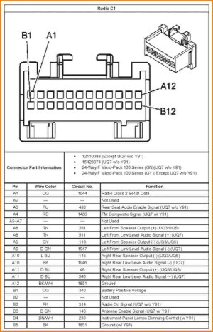 2004 Chevy Malibu Radio Wiring Diagram | Free Wiring Diagram