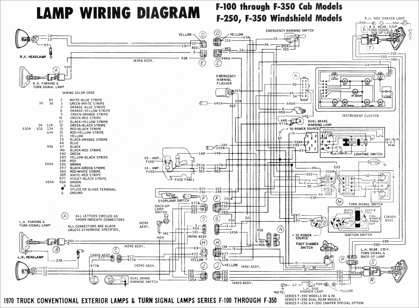 Chevy Truck Light Wiring