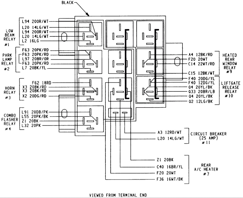 Dodge Truck Stereo Wiring Diagram