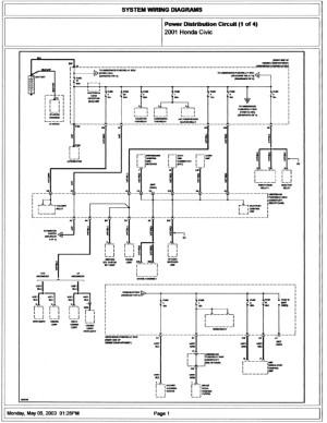 2005 Honda Crv Wiring Schematic | Free Wiring Diagram