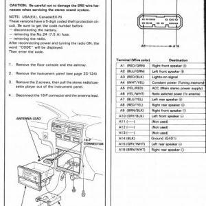 2005 Honda Element Stereo Wiring Diagram | Free Wiring Diagram