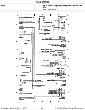 2005 Honda Element Stereo Wiring Diagram | Free Wiring Diagram