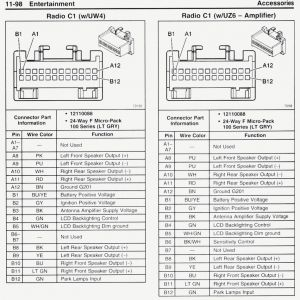 2006 Chevy Silverado Radio Wiring Diagram | Free Wiring Diagram