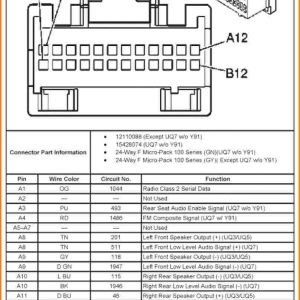 2007 Chevy Silverado Radio Wiring Harness Diagram | Free
